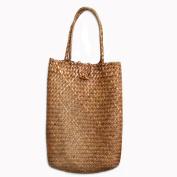 Shopping Basket Wicker Picnic Hamper Storage Basket ,Shopping handbag