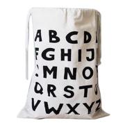 Cdet Storage Bucket Canvas Word Laundry Storage Basket Toy Organiser Home Supplies