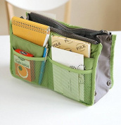 Domire Handbag Pouch Bag in Bag Organiser Insert Organiser Tidy Travel Cosmetic Bag