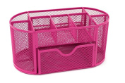Cdet 1X Pen Holder Creative Metal Mesh Storage Box Makeup Container Desk Tidy Office Supplies Stationery