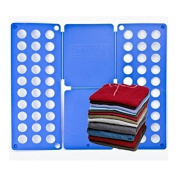 Flip and Fold Adult T-Shirt Top Clothes Folder - Crease Free Folder in a few Easy Steps by DURSHANI