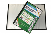 Protectafile A3 black display book 40 pockets presentation folio