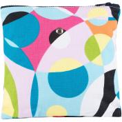 Yarn Pop GG07 Knitting Bag, Multi-Colour, 23cm x 23cm