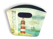 Small Rigid Tidy Bag - Lighthouse Design