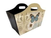 Foldable Tidy Bag - Blue Butterfly Design