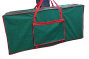 CHRISTMAS TREE STORAGE CARRYING BAG GREEN RED 125 CM X 30 CM X 50 CM