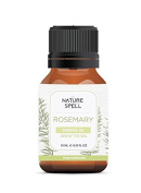 Nature Spell Rosemary Essential Oil 10 ml - Therapeutic Grade 100% Pure & Natural