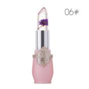 Lipsticks,VNEIRW Beauty Bright Flower Crystal Jelly Lipstick Magic Temperature Change Colour Lip
