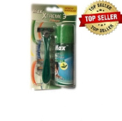 Max Extreme 3 1 Handle + 4 Cartridges 3 Blade Technology with Shave Cream
