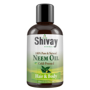 Shivay Herbals Cold Pressed 100% Pure Neem Oil 100ml