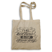 This Kitchen Is For Dancing Tote bag s361r