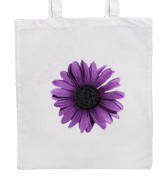Purple Gerbera Flower Shopping/Tote/Bag For Life/Shoulder Bag By Mayzie Designs®