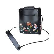 Shoulder Bags WINWINTOM Retro Female Simple Floral Bag Crossbody Shoulder Bag Handbag
