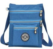SupaModern Womens' Nylon Shoulder Bag Waterproof Cross Body Bag Ipad Bag Phone Bag Light Weight Outdoor Bag Daily Bag for Women