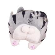 wuayi Adorable Cat Butt Tail Plush Handbag Crossbody Shoulder Bags Purse Phone Bag