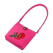 squarex Elegant Women Embroidery Shoulder Bags Postman Package Handbag Messenger Bag