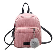 Backpack Handbags,LMMVP Women Backpacks SchoolBags with Pom Poms Travel Bag
