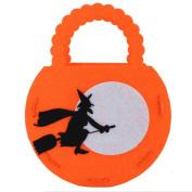 Wicemoon Children Handbag Halloween Pumpkin Bag Pumpkin Child Candy Bag