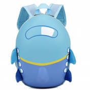 Little Girls Boys Kids Cute Aeroplane Cartoon Eggshell Backpack Toddler School Bag By Letter54