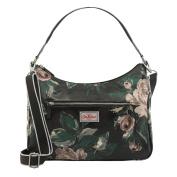 CATH KIDSTON Charcoal Devonshire Rose Curved Shoulder Bag