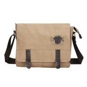 Super Modern Mens Canvas Shoulder Bag Messenger Bag Laptop Bag Computer Bag Satchel Bag Bookbag School Bag Working Bag Crossbody Bag