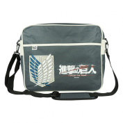 Attack on Titan Men's Shoulder Bag grey grey black