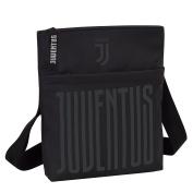 JUVENTUS First Team - Handbag Black - With Shoulder Strap - Faux Leather- Colour Black