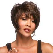 Vivica A Fox MOORE Wig Pure Stretch Cap 100% Hand Stitched All Day Comfort 1B/30