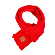 Babyicon Baby Boys Girls Knitted Scarf Winter Warm Solid Scarves Wrap Shawl