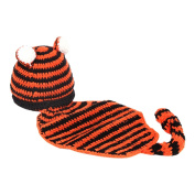 Zhuhaitf Newborn Baby Photography Props Outfits Girl Boy Crochet Knitted Hat 5257#