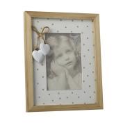 Polka Dot Photo Frame (23.5cm x 19cm)