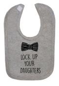 Lock Up Your Daughters Hook and loop Fastening Baby Bib