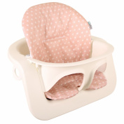 Highchair cushion Ukje Stokke Steps - Pink with stars - Coated ♥