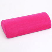 MagiDeal Soft Hand Rest Pillow Rest Nail Art Hand Holder Cushion - Rose Red