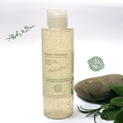 Hair Growth Stimulating Organic Shampoo with Peppermint and Rosemary – 150ml by Alphy & Becs