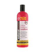 NATURAL WORLD PAW PAW & QUINOA COLOUR RADIANCE CONDITIONER FOR COLOURED HAIR 500ML