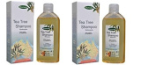 biomeda-shampoo Rinforzante to Tea Tree Oil 2 Conf by 200 ml-capelli More Healthy, Strong and revitalised