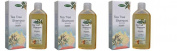 biomeda-shampoo Rinforzante to Tea Tree Oil 3 Conf Da 200 ml-capelli More Healthy, Strong and revitalised