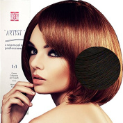 Hair Dye Professional Permanent Natural Colour With Ammonia 3/0 Dark Brown Made in Italy