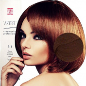 Hair Dye Professional Permanent Golden Colour With Ammonia 8/3 Light Golden Blonde Made in Italy