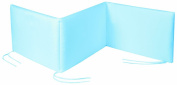 Italbaby 3 Sides Bumpers, Light Blue