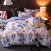 cotton satin jacquard bedding a family of four cotton sheets quilt wedding textile , 004 , 2.0m