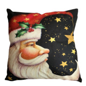Throw Pillow Case,Kingwo Christmas Super SoSquare ft Snow Throw Pillow Case Bed Home Decorative Waist Cushion Pillow Cover Great For Christmas Day