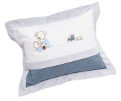 Be Be's Collection 267 40 Cuddle Cushion Oskar Blue 30 x 40 cm