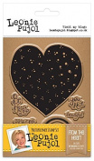 Leonie Pujol Photopolymer From The Heart Entwined Stamp, Clear, A6