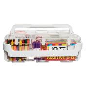 Deflecto Caddy Organiser, Plastic, Transparent