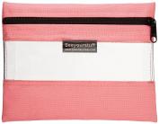 Lyle Seeyourstuff Clear Storage Bag 15cm x 20cm -Pink