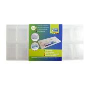 Vaessen Creative Craft Mates Storage Box , Plastic, Transparent