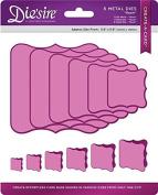 Die'sire Create a Card Base Die Rosie, Purple
