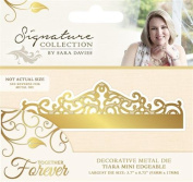 Sara Signature Together Forever Metal Die Tiara Mini Edgeable, Gold